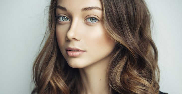 Hair contouring brune chatain